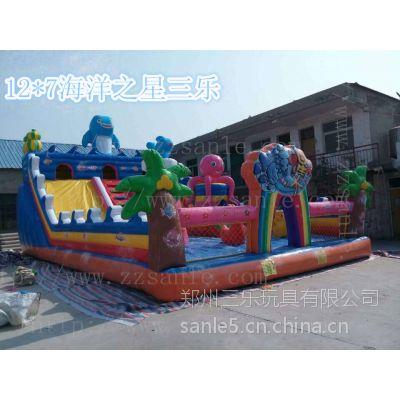 四川省成都市广场上放什么玩具好充气大滑梯生意怎么样