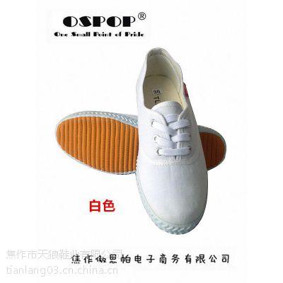 天狼鞋业厂家直供韩版小白鞋 舒适百搭 现货低价促销