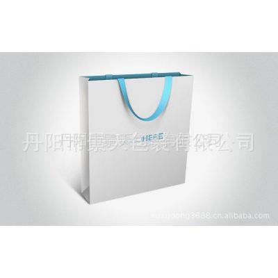 供应大量生产 胶印化妆品牛皮纸纸袋手提袋