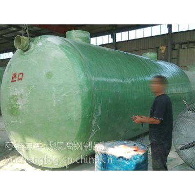 微山县机械缠绕玻璃钢化粪池