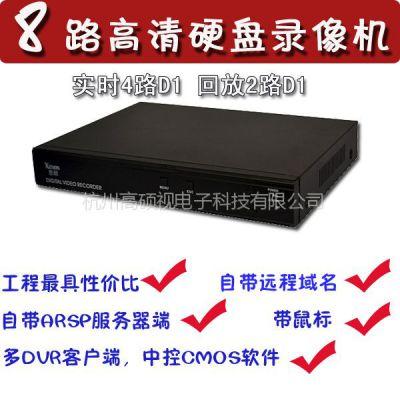 供应8路硬盘录像机 8路监控主机 监控录像机 监控DVR DVR录像机