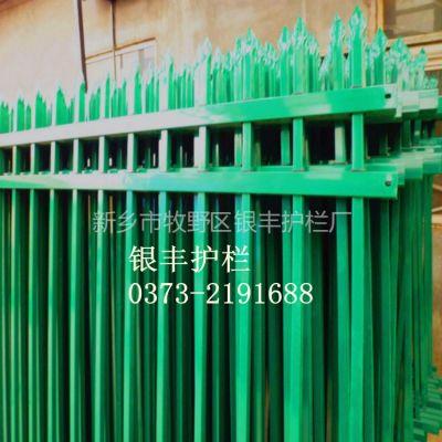 供应镀锌方管栏杆 镀锌方管围墙院墙 无焊接的方管护栏 比不锈钢好的方管栅栏
