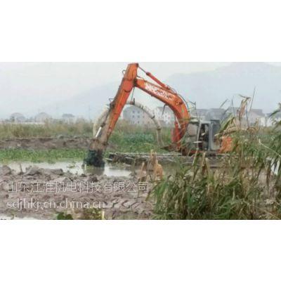 水路两用挖掘机清淤泵、液压吸泥泵 水上挖机湿地泥浆泵