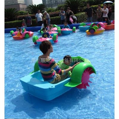 小河里放几条摇船生意好吗 小区里摆塑料手划船怎么计费 亲子娱乐手划船