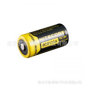 供应NITECORE 奈特科尔 16340 650mAh 带保护电路 充电电池 NL166