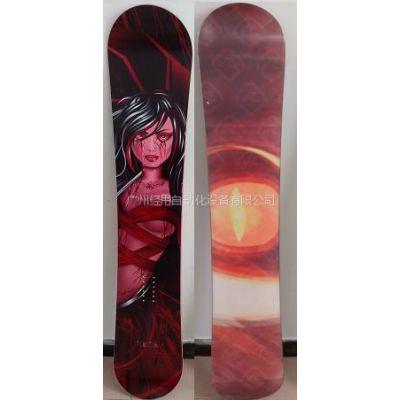 供应图案精美的滑雪板
