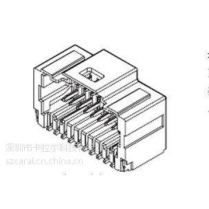 501571-2007PCB插座头MOLEX连接器