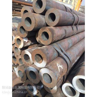 高质量苏州厚壁无缝钢管定尺、切割厂家@20# 426*65厚壁钢管价格