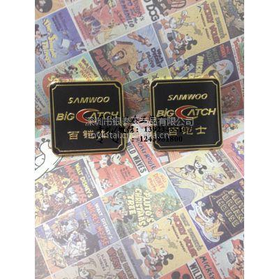 厂家定做金属拉丝电铸标牌 铜金属铭牌logo标牌