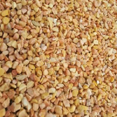 米黄洗米石多少钱一吨 河北永顺米黄色洗米石厂家直销