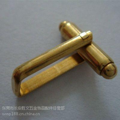 厂家销售19MM铜袖扣脚