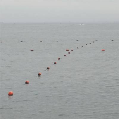 厂家各种型号海上警戒线浮球 水库警戒线浮球 塑料浮漂