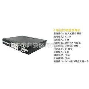 供应8路硬盘录像机 监控录像机 监控硬盘机 监控机 高清 VGA 网络监控
