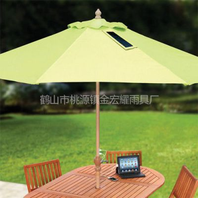 供应给手机平板充电的太阳伞