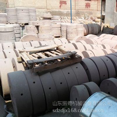 振德牌面粉厂专用电动石磨机 水稻 玉米 小麦专用电动石磨面粉设备