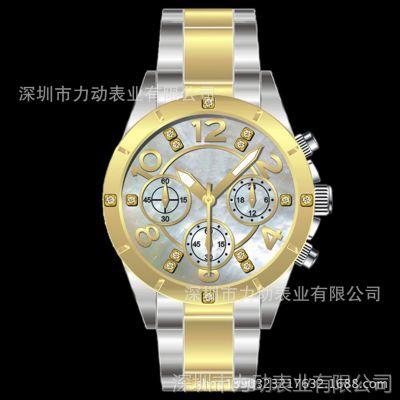 手表厂家供应广告促销时尚休闲手表女表 防水女士手表批发
