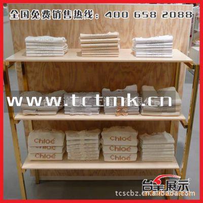 供应生产设计【金属框架木质层板结构】服装展示柜