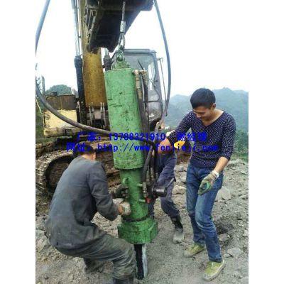 大型矿山开采机械挖机带装劈裂机 厂家直供
