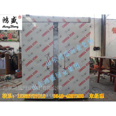 张家口市赤城县新款双门72盘蒸房 赤城县蒸馒头设备厂家
