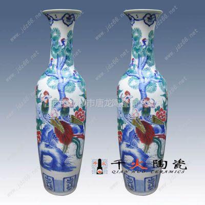 供应供应五彩陶瓷艺术品,五彩瓷花瓶装饰,景德镇五彩瓷