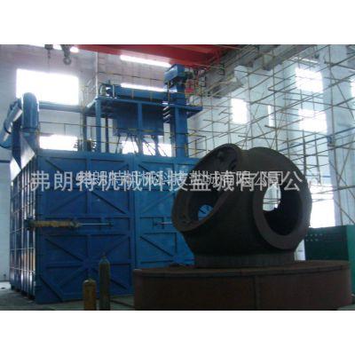 供应5吨-50吨台车式抛喷丸联合清理机