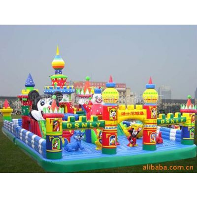 华龙提供pvc充气玩具加工 宁夏充气儿童跳床