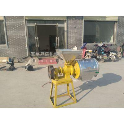 鼎信厂家优质促销小型磨面机 五谷杂粮磨面机