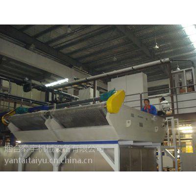 供应泰宇污水处理设备高效弧网纸带过滤机TYHW1500