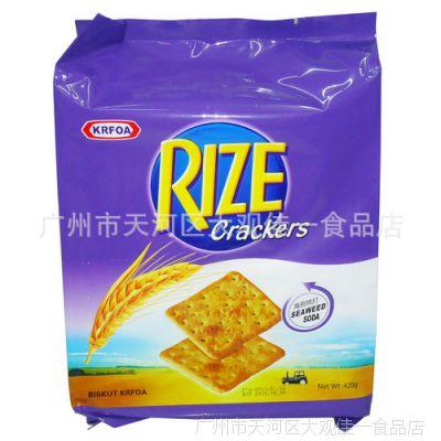 香港卡夫梳打饼干海苔味420g*16包/组