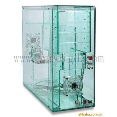 广州番禺洛溪供应亚克力高档电脑机箱外壳、透明主机外壳