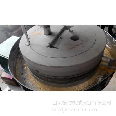 振德生产家用面粉石磨机 大型麦粉电动石磨价格