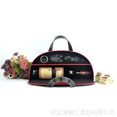 时尚红色酒盒套装   红酒美容养颜女人的***爱  送妻子的礼品
