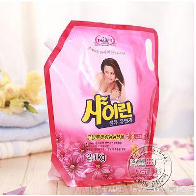 韩国正品含天然椰油立奥芳纤维柔软剂 强力浓缩芳香衣物柔顺剂