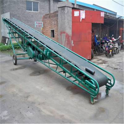 可移动式料斗皮带机 降低成本大产量输送机 行业高端产品