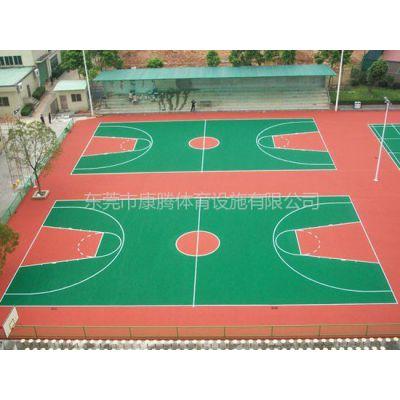 供应承接东莞丙烯酸篮球场工程