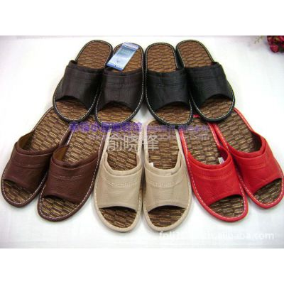 供应远港新款拖鞋 高品质 皮质拖鞋 夏季 居家 情侣 家居鞋