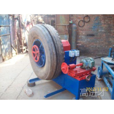 废钢丝轮胎切割机 废轮胎切割机 大钢丝轮胎切割机