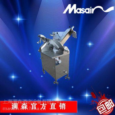 供应Masain 满森MA-375G豪华商用落地式切片机 切羊肉冻肉机 高效节能