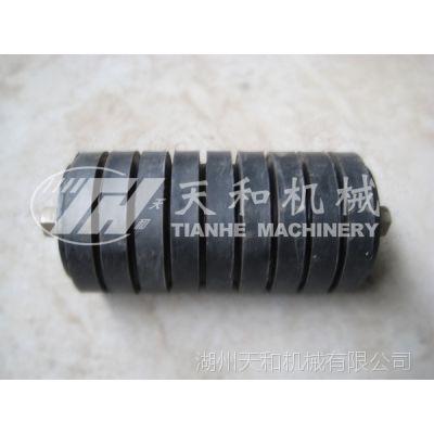 供应 橡胶辊子 缓冲/胶圈托辊 生产厂家 浙江湖州