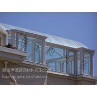 青岛铝包木阳光房/钢结构玻璃房/青岛电动天窗58974590