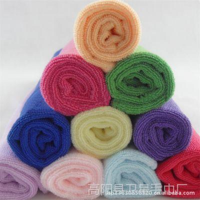 240g/㎡超细纤维毛巾-25*50-吸水不褪色-童巾-吸水强 美容干发巾