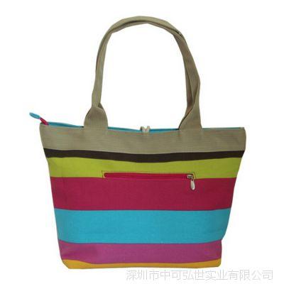 多色布艺手提帆布女包时尚手提包中可弘世厂家定做