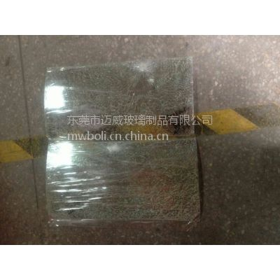 原材料玻璃加工成型弯钢玻璃4MM超白玻璃