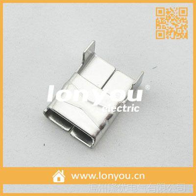 LX型不锈钢扎扣/打包扣9.50X0.70MM