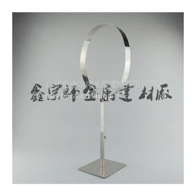 生产厂家 经典高档不锈钢镜面皮带架 男士专柜服装店展示架子道具
