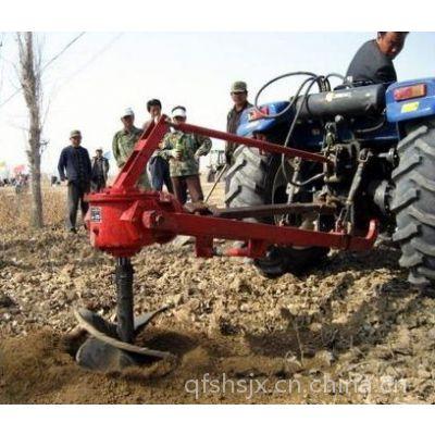 挖坑机价格 拖拉机配套挖坑机 宏燊机械