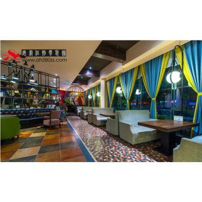 合肥主题情调餐厅装修设计***有情怀的艺术餐厅