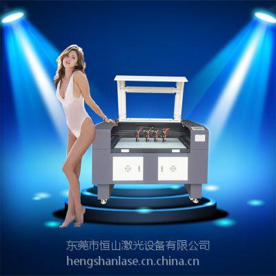 恒山激光皮革面料帆布手套切割HS-1610A自动激光裁布切割机