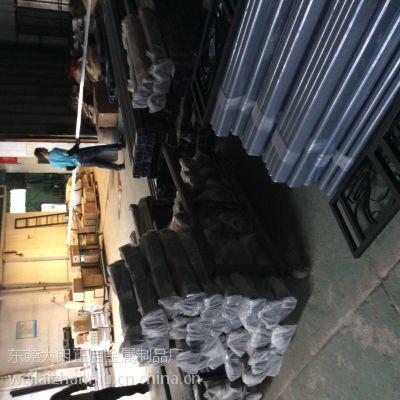 广东锌钢阳台护栏厂家:供应管材40*80*1.2 固定座 弯头 链接件