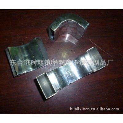 供应厂家专业生产不锈钢方管弯头、服装道具展示架配件